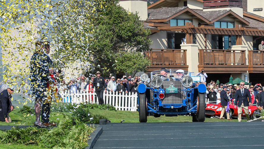 1929 Mercedes-Benz Named 2017 Pebble Beach Best In Show Winner