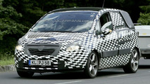 New Opel Meriva Closest Spy Photos