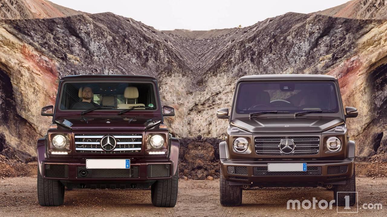Mercedes G-Class comparison
