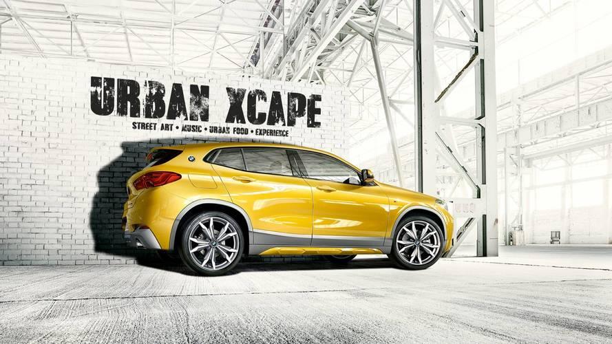 Urban Xcape: una ciudad secreta, con el BMW X2 como protagonista