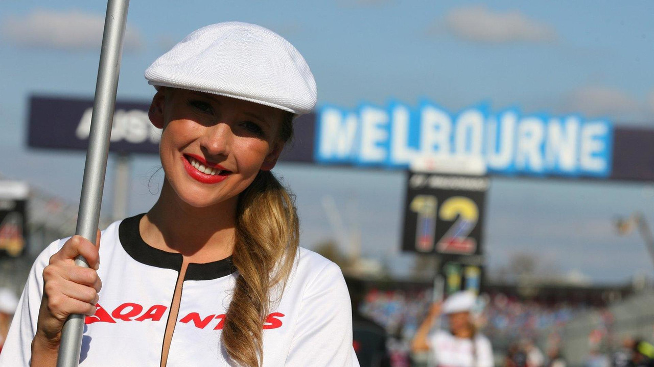 Grid girl 27.03.2011 Australian Grand Prix