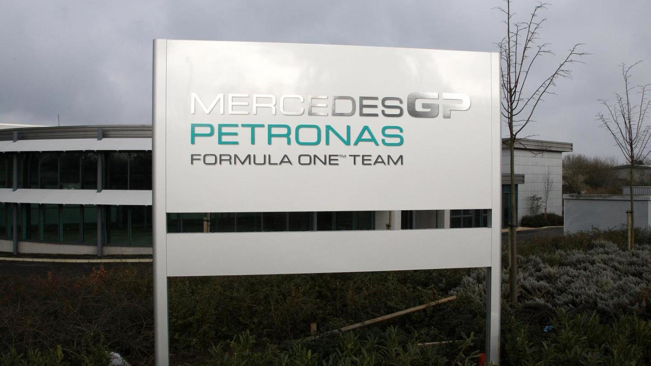 Mercedes AMG factory in Brackley, England / XPB