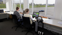 """Automated Driving"" at Mercedes-Benz - From the control station the test engineers have direct access to the vehicles at all times."