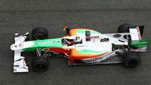 Adrian Sutil (GER), Force India F1 Team, VJM-03, 12.02.2010, Jerez, Spain