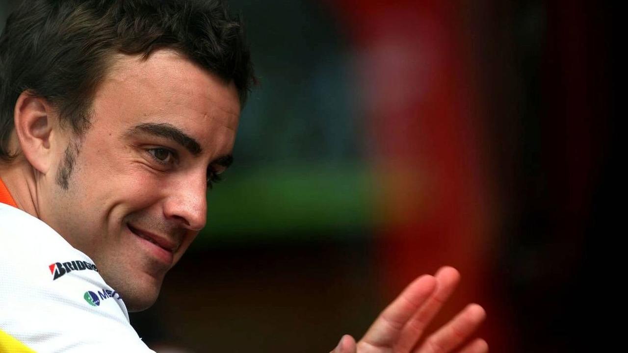 Fernando Alonso (ESP), Belgian Grand Prix, Francorchamps, Belgium 27.08.2009