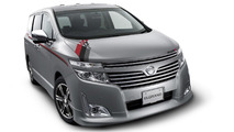 Nissan LEAF Aero Style Concept revealed - 9 debuts at Tokyo Auto Salon