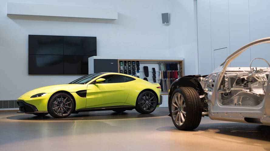 2018 Aston Martin Vantage Makes Video Debut