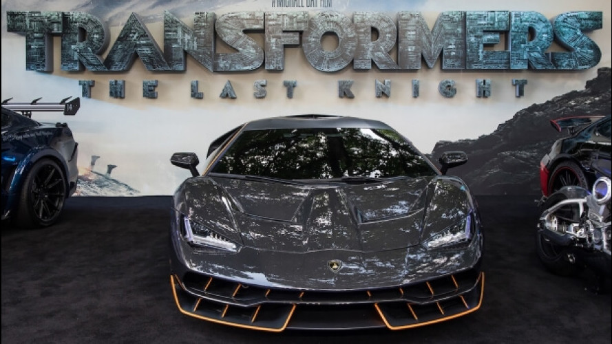 Transformers 5, una Lamborghini Centenario sul red carpet londinese [VIDEO]