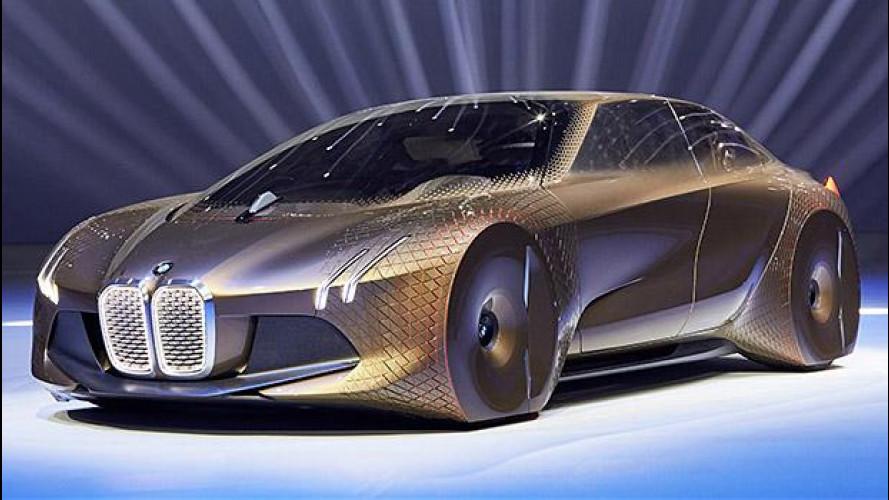 BMW Vision Next 100, visionaria e intuitiva
