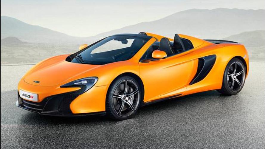 McLaren 650S Spider, sfida aperta