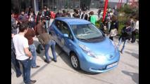 La Nissan Leaf al Politecnico di Milano