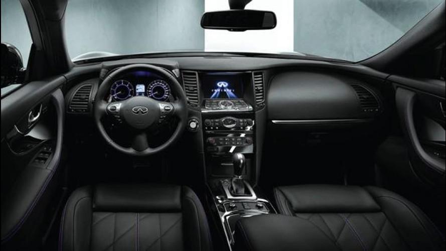 Infiniti QX70S Design, il lato oscuro del SUV
