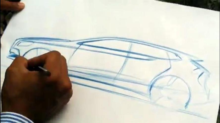 Così Christopher Benjamin disegna la Volvo V40