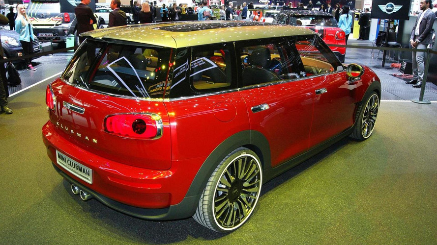 Second generation MINI Clubman believed to arrive at 2015 Frankfurt Motor Show