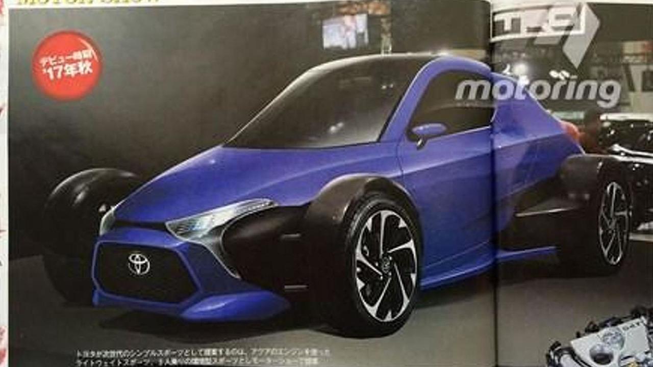 Toyota open-wheel sportscar render