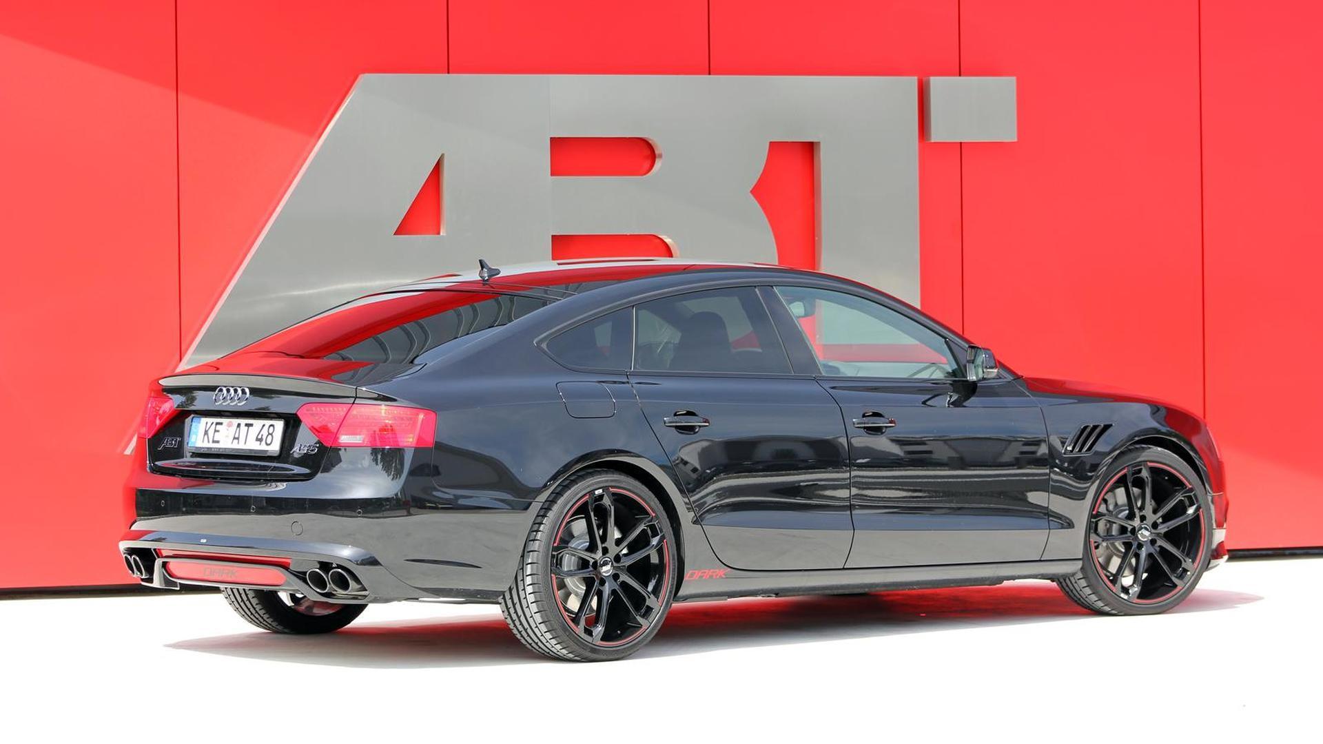 Чёрная Audi A5 Sportback от ABT Sportsline