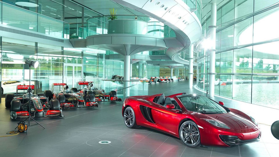 Neiman Marcus McLaren 12C Spider announced