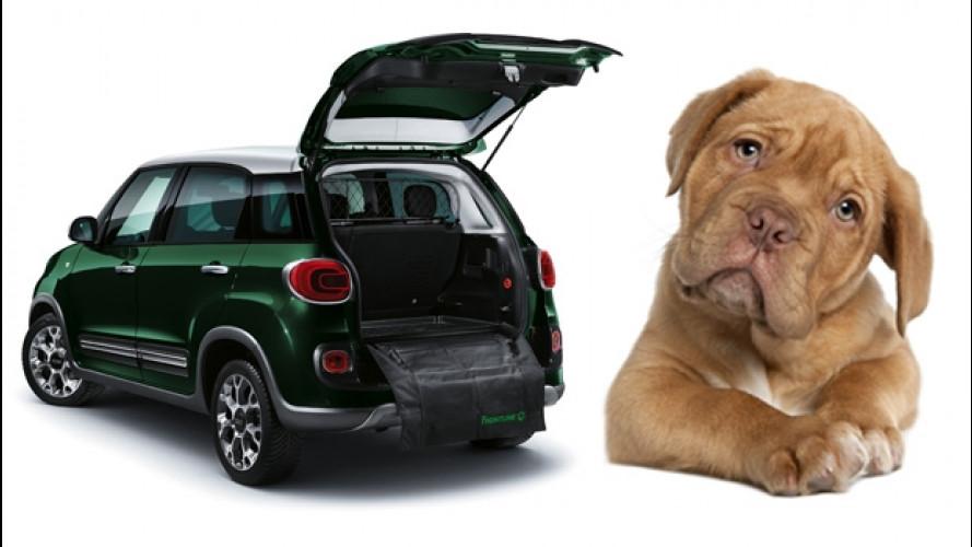 """Fiat 500L si arricchisce di accessori """"per cani"""""""
