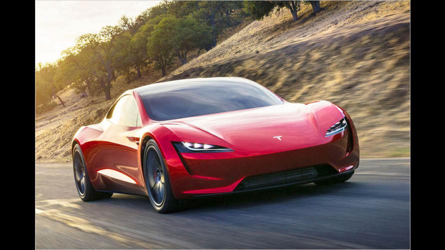 Tesla stellt neuen Roadster vor