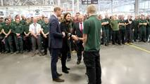 JLR Royal Visit