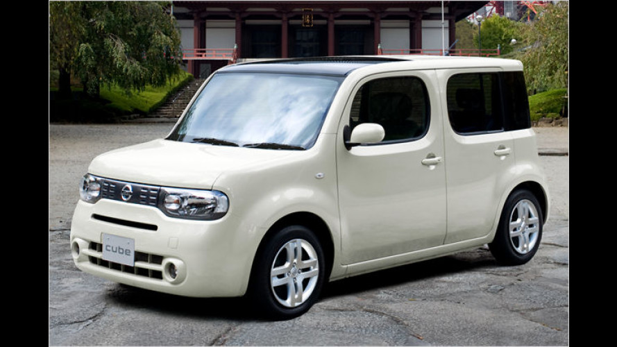Nissan: Neuer Cube mit innovativer Abgasreinigung