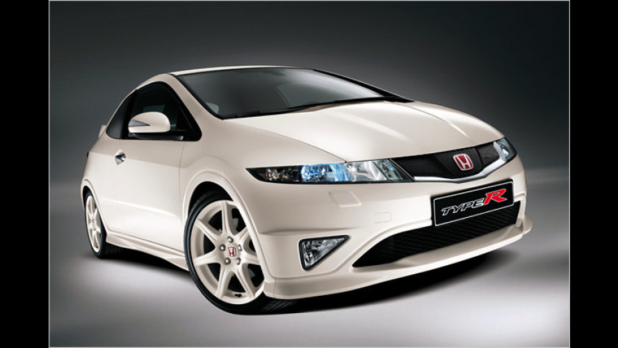 Sonder-Honda: Civic Type R ,Championship White Edition