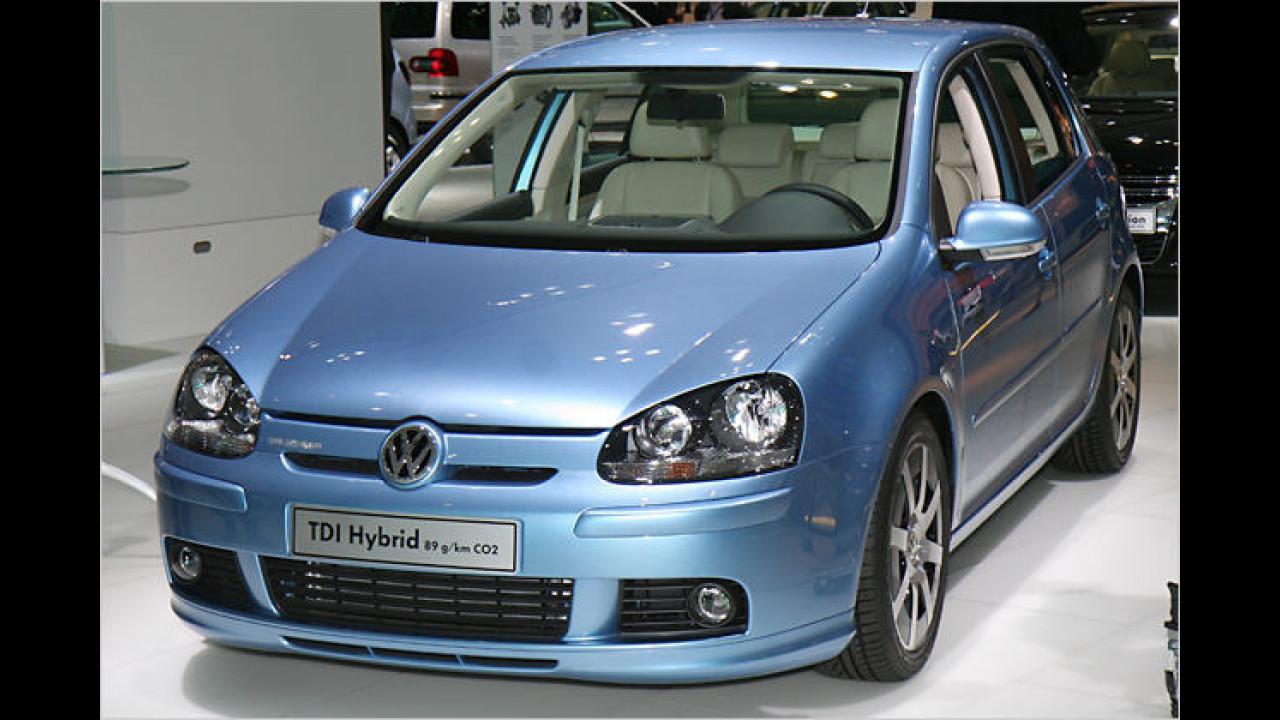 VW Golf TDI Hybrid