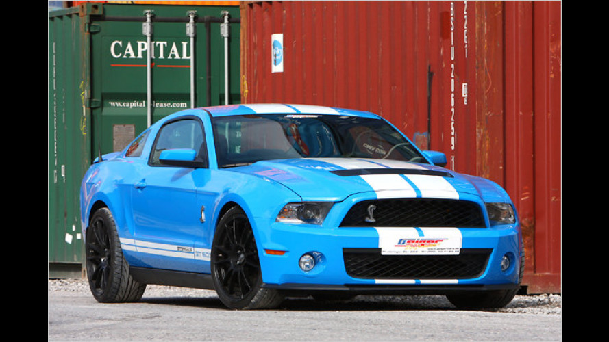 810 PS stark: Ford Mustang Shelby GT500 von Geiger