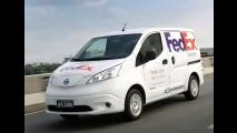 Nissan e FedEx testam van elétrica e-NV200 no Brasil