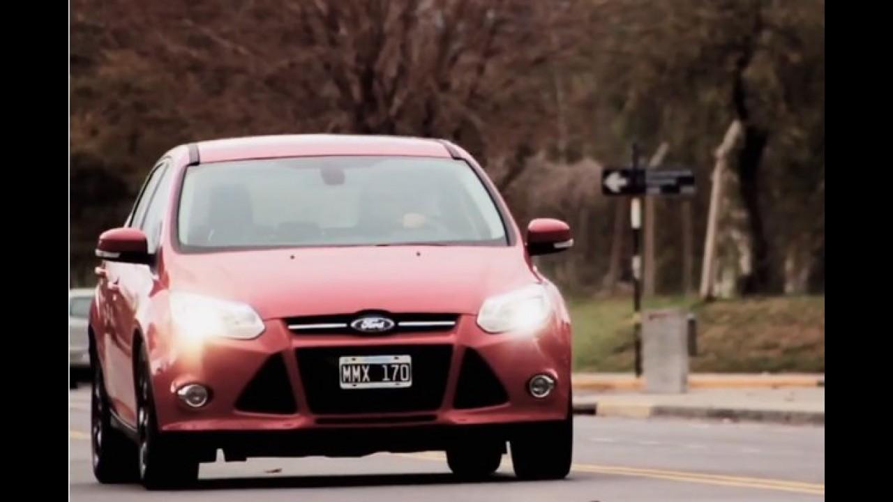 Novo Ford Focus: confira os primeiros vídeos oficiais feitos na Argentina