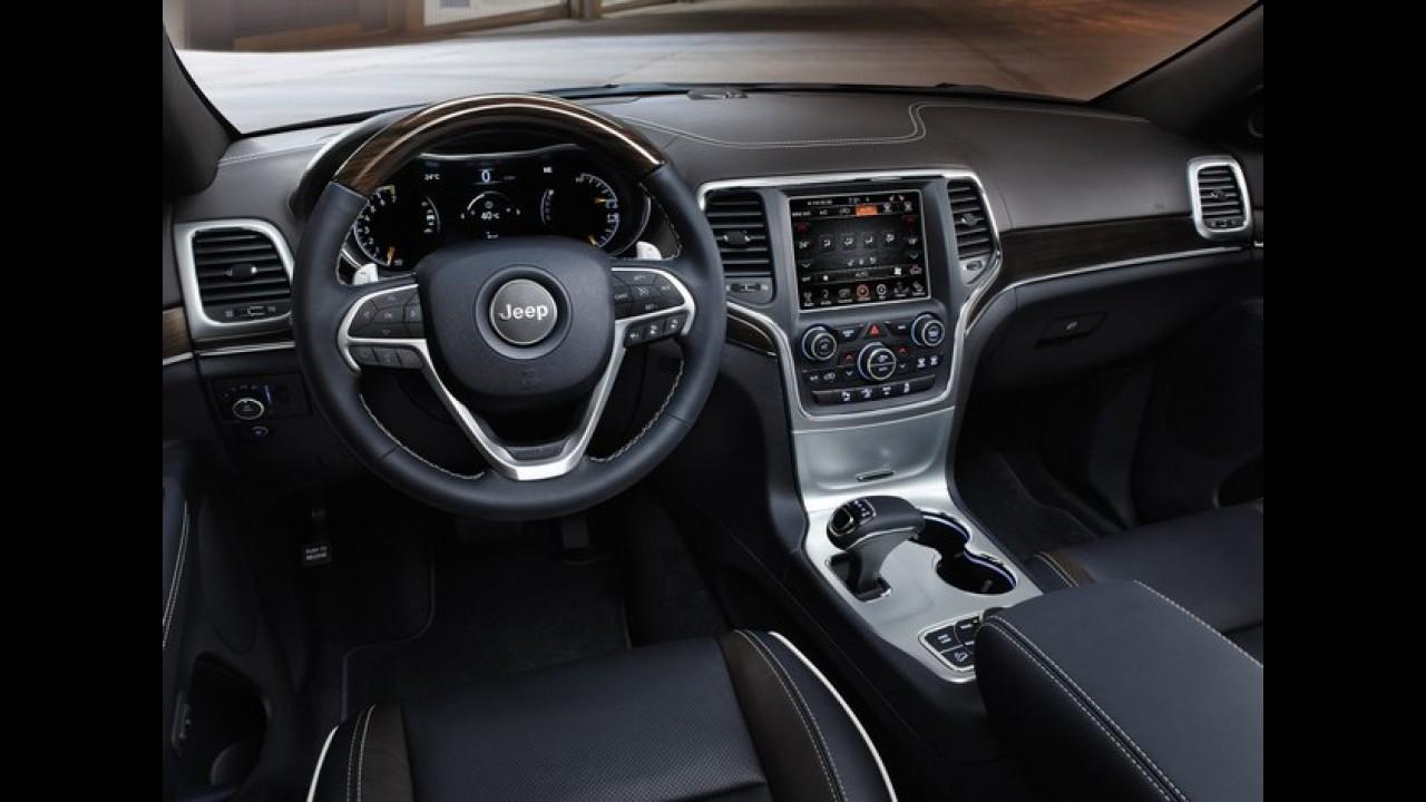 Jeep Grand Cherokee 2013 - Veja as primeiras imagens da versão europeia