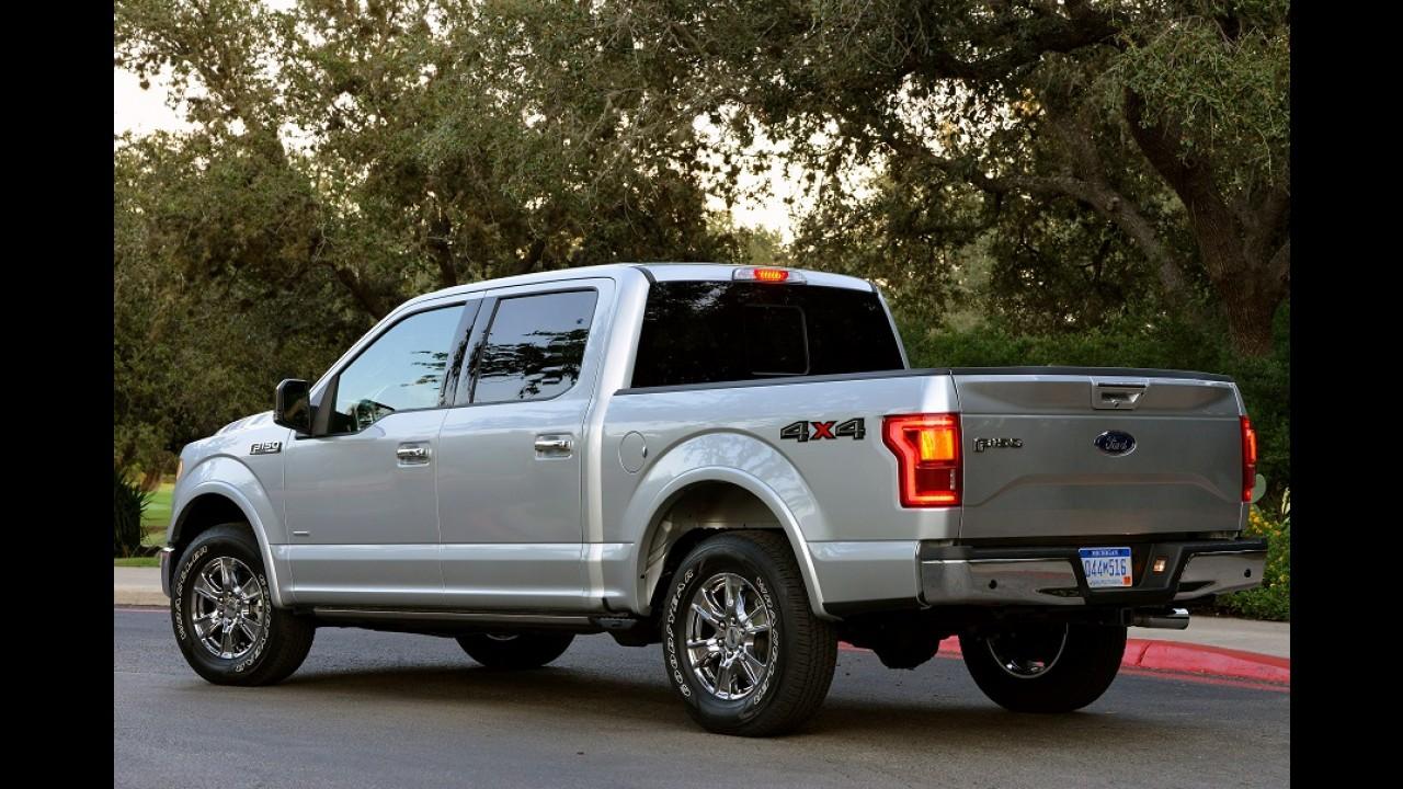 Ford F-150, líder de vendas nos EUA, ganhará versão híbrida em breve