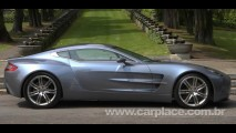 Aston Martin One-77 2010 é apresentado na Itália - Série limitada custa mais de R$ 3 milhões