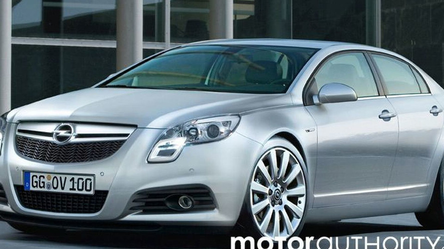 2009 Opel Vectra Artist Interpretation