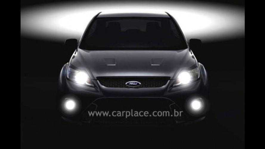 Ford revela primeira imagem do novo Focus RS