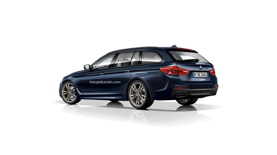 BMW Série 5 Touring / M5 rendu 2017