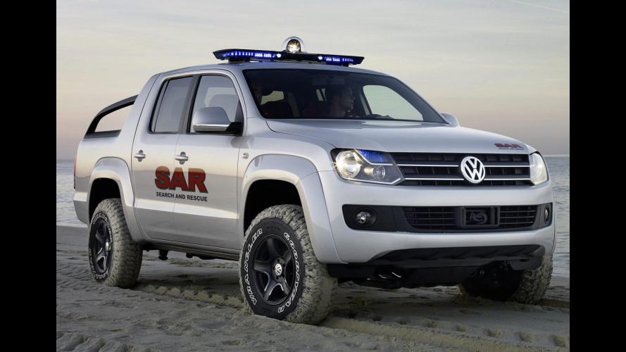 Volkswagen Amarok al Dakar Rally 2010