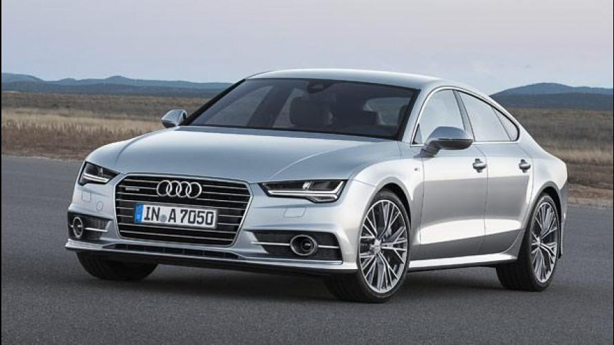 Audi A7 Sportback restyling, guardatela negli occhi