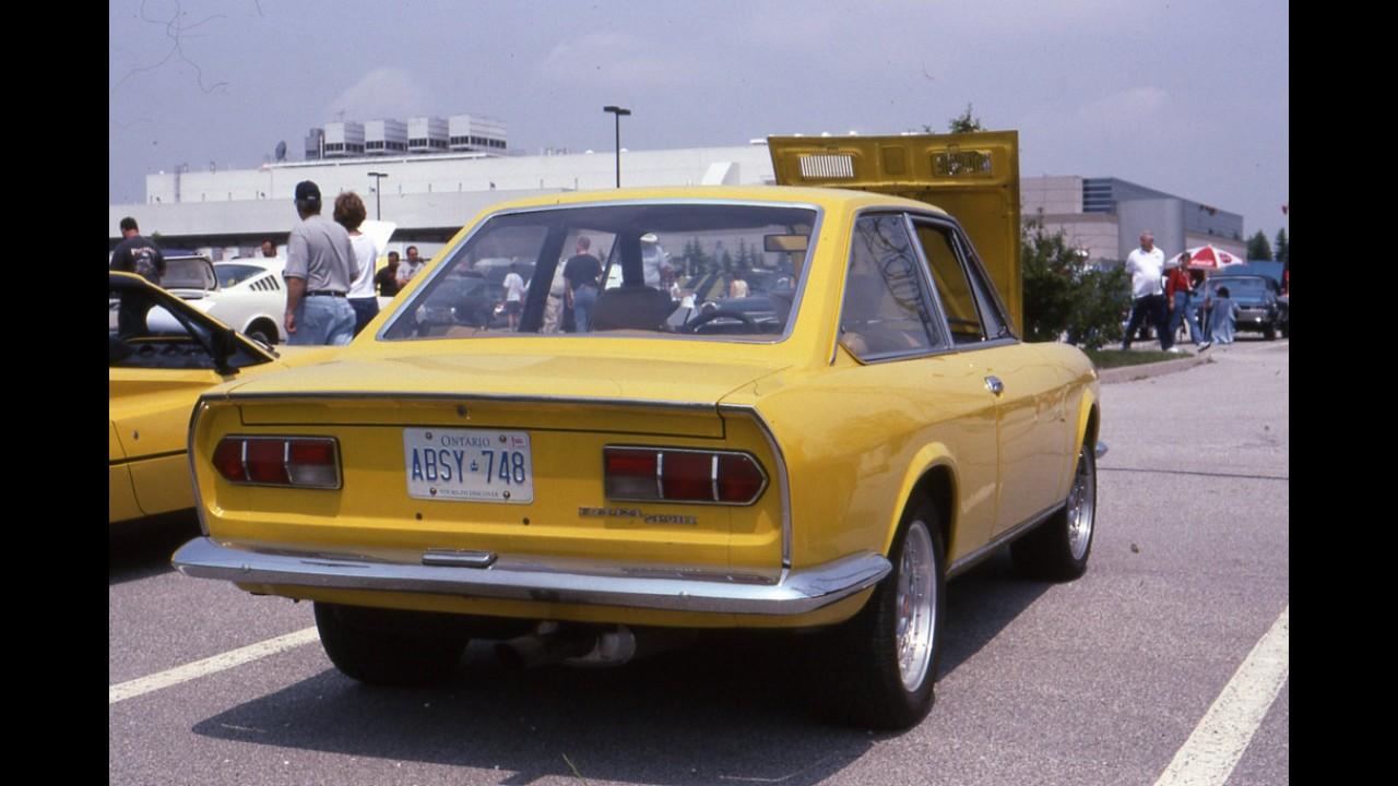 Fiat 124 sport coupe - Fiat 124 coupe sport fiche technique ...