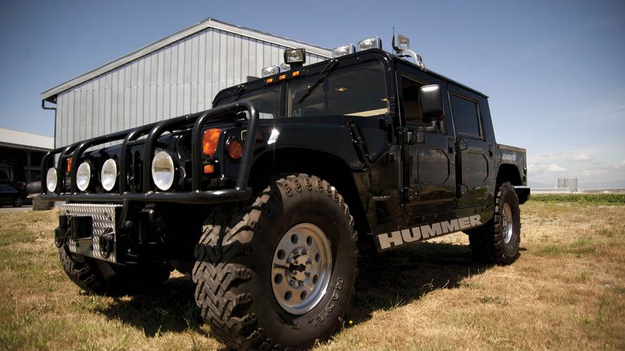 Le Hummer H1 de 2pac est de nouveau à vendre