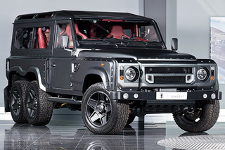 The Six-Wheeled Land Rover Defender Can Be Yours for $310,000