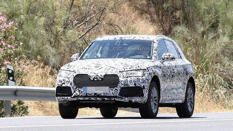 2017 Audi Q5 spied for the first time