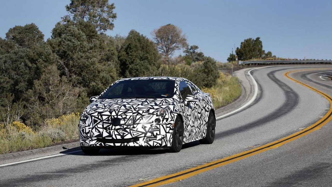 2014 Cadillac ELR official spy photo 08.1.2013