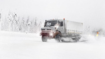 2014 Mercedes Unimog official spy photo 04.4.2013