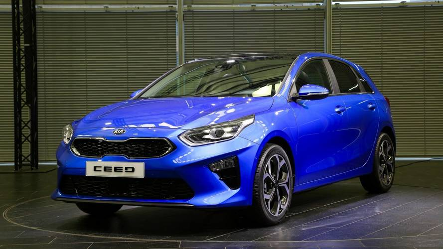 Third-generation Kia Ceed unveiled in Geneva