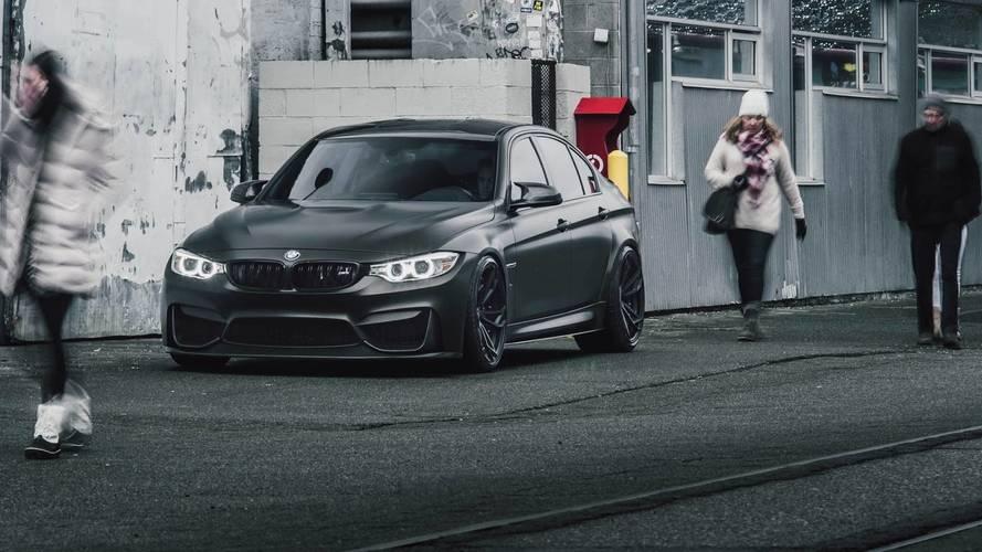 Modifiyeli BMW M3 şeytani görünüyor