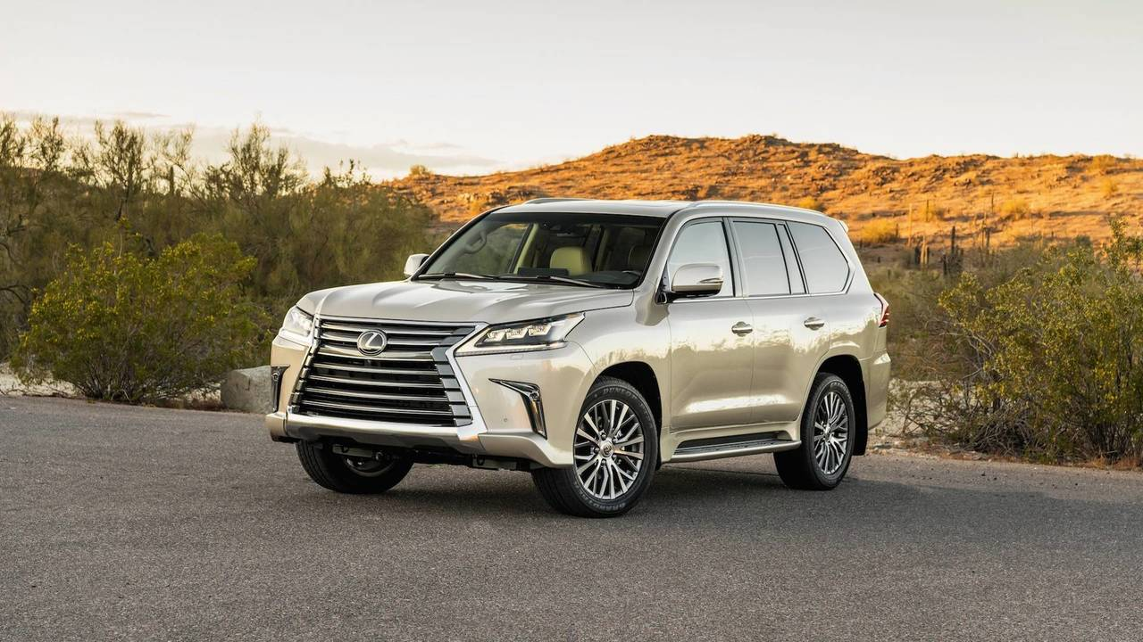 2018 Lexus Lx Two Row First Drive So Much Room For Activities