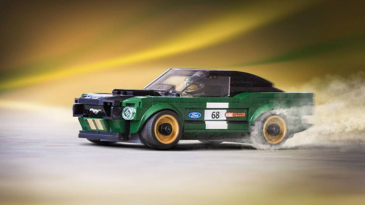 1968 Ford Mustang Lego Set