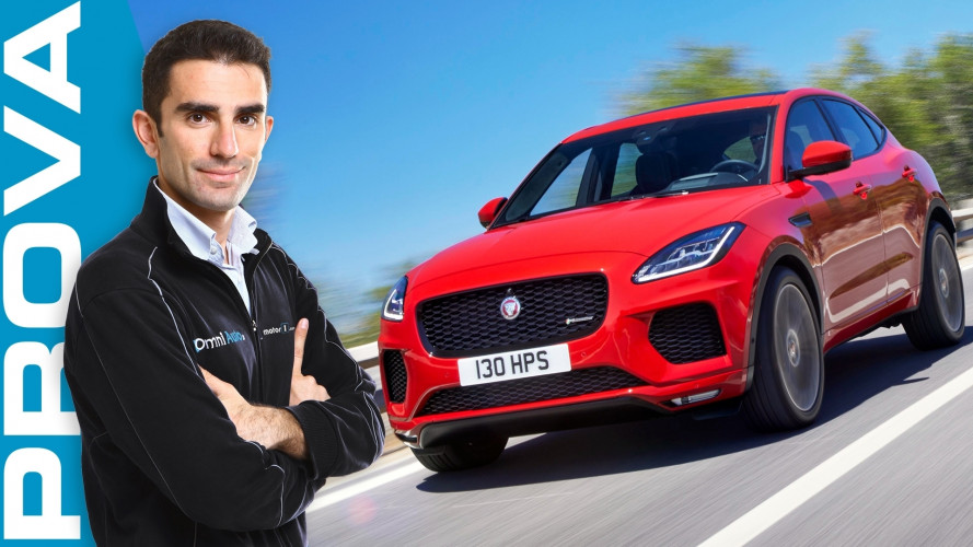 Jaguar E-Pace, piccola e graffiante