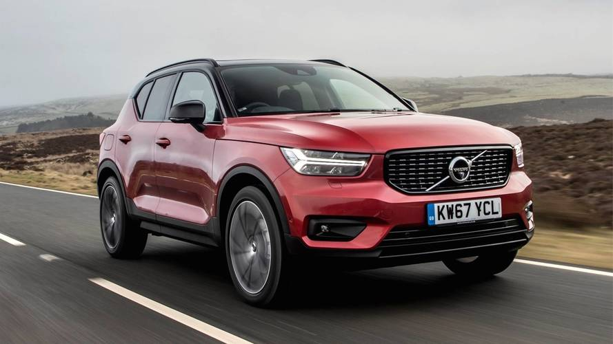 2018 volvo xc40 review all round excellent. Black Bedroom Furniture Sets. Home Design Ideas
